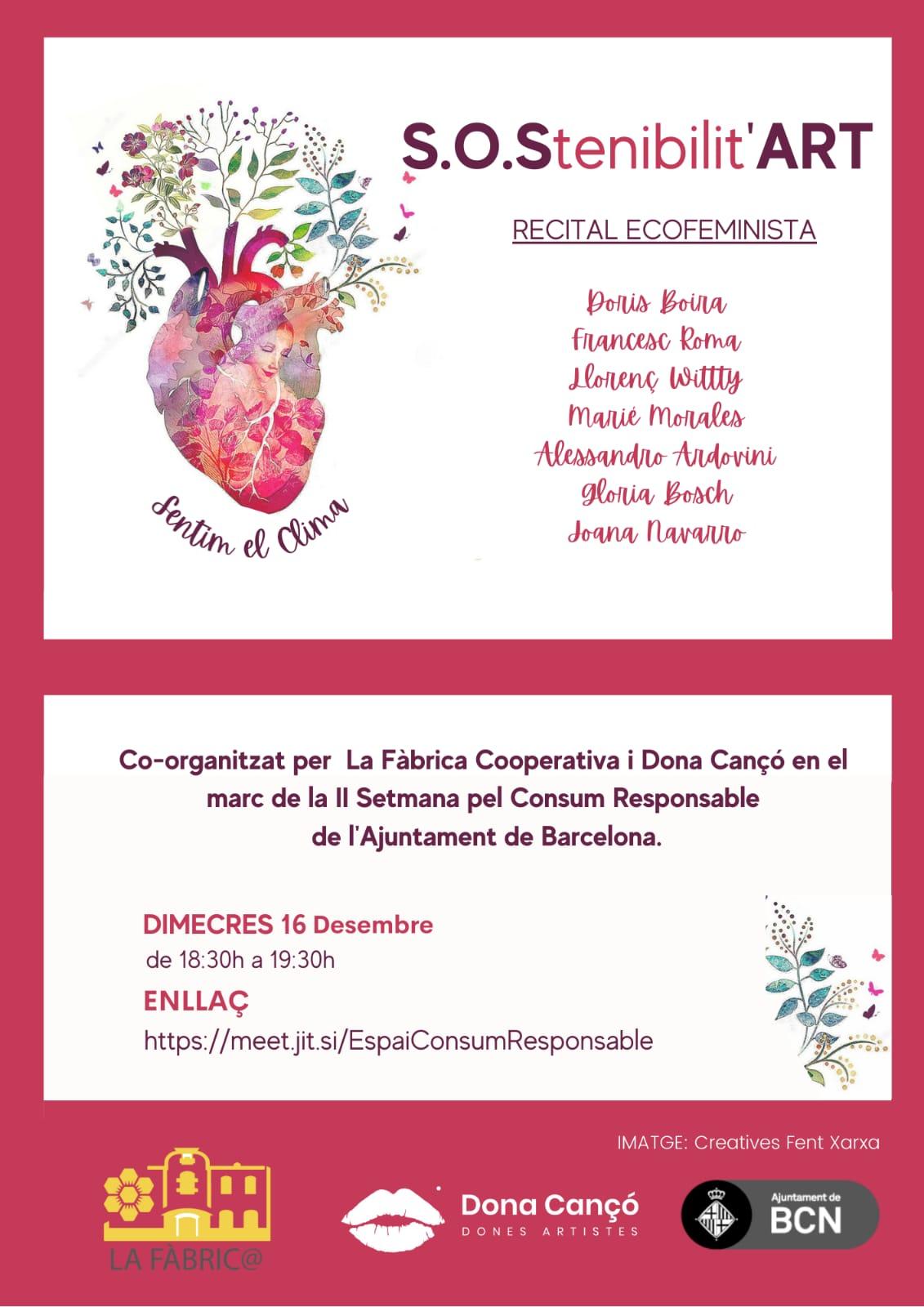 Presentación La Rueda Recital Ecofeminista S.O.Stenibilit'ART